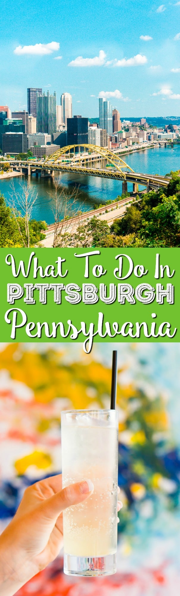Heading to Pittsburgh, Pennsylvania and not sure what to do? Here's a great itinerary of what to do, see, and eat in Steel City in 48 hours! via @sugarandsoulco