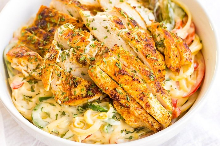 This creamy Cajun Chicken Pasta is a flavorful dinner recipe.
