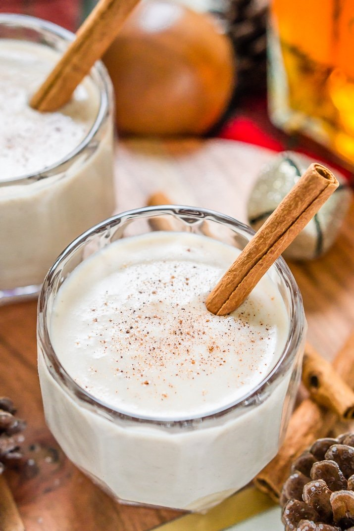 this coquito recipe is a creamy and rich coconut based puerto rican cocktail similar to - Puerto Rican Christmas Drink