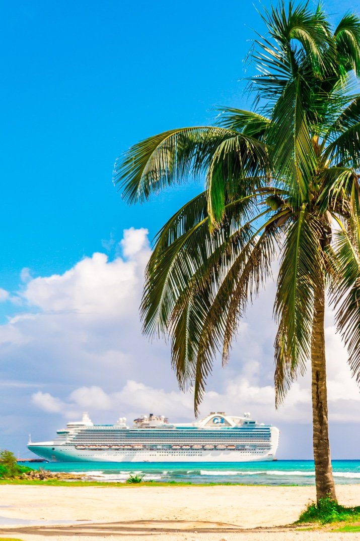 Princess Cruises in Costa Maya Mexico