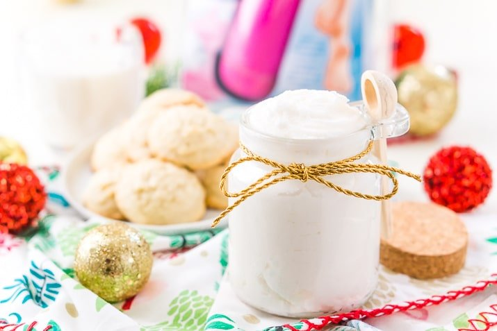 DIY Sugar Cookie Body Scrub Recipe