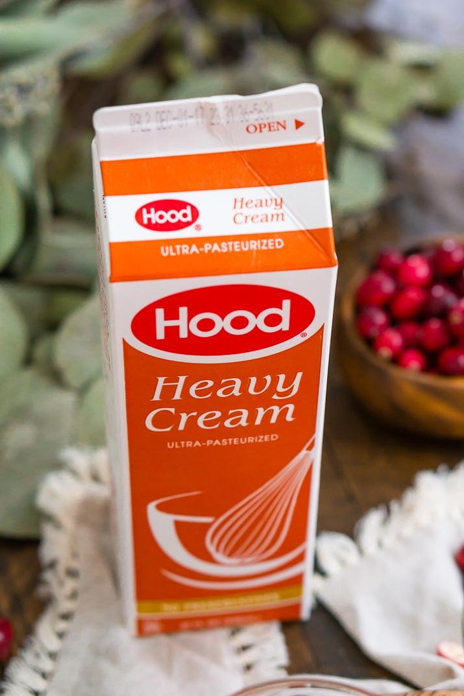 Hood Cream for Maple Panna Cotta