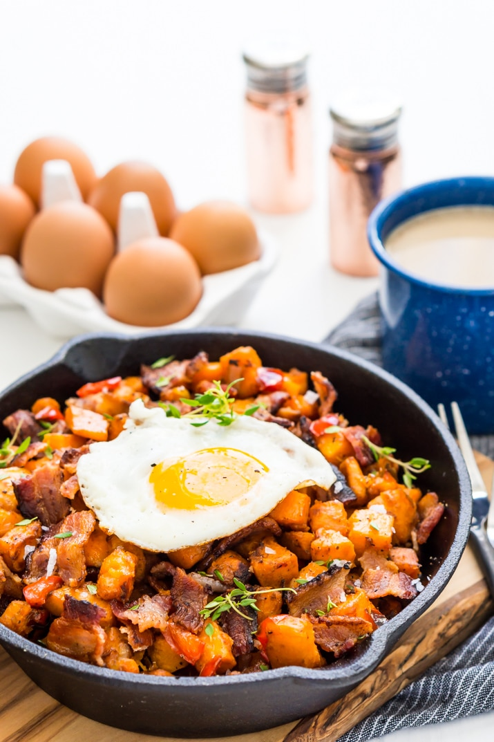 Breakfast Recipe - Sweet Potato Hash