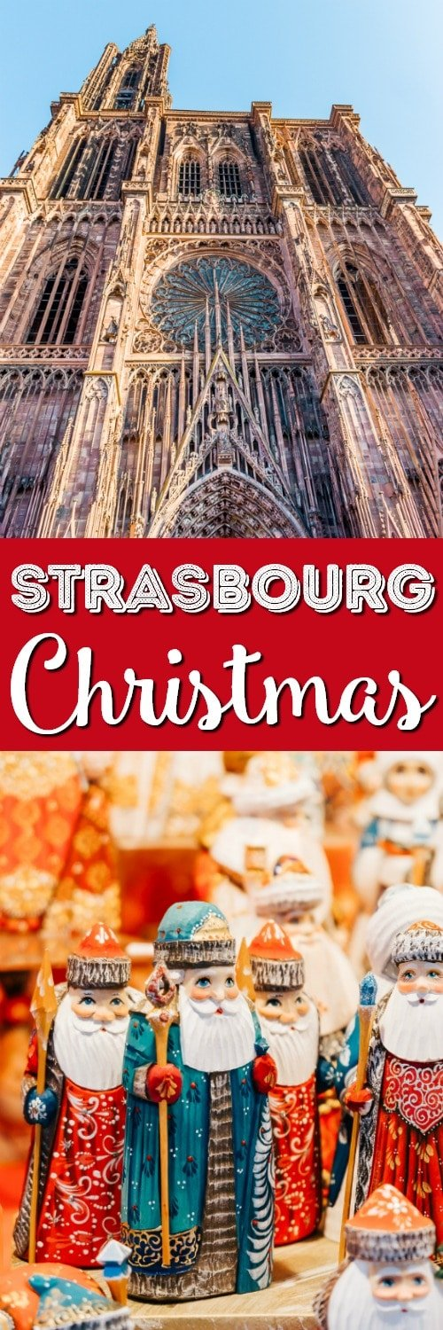 Christmas in Strasbourg France is something truly magical. This charming town in the Alsace region in France is covered in lights and seeping Christmas spirit, you can't help but fall in love with this European destination! via @sugarandsoulco
