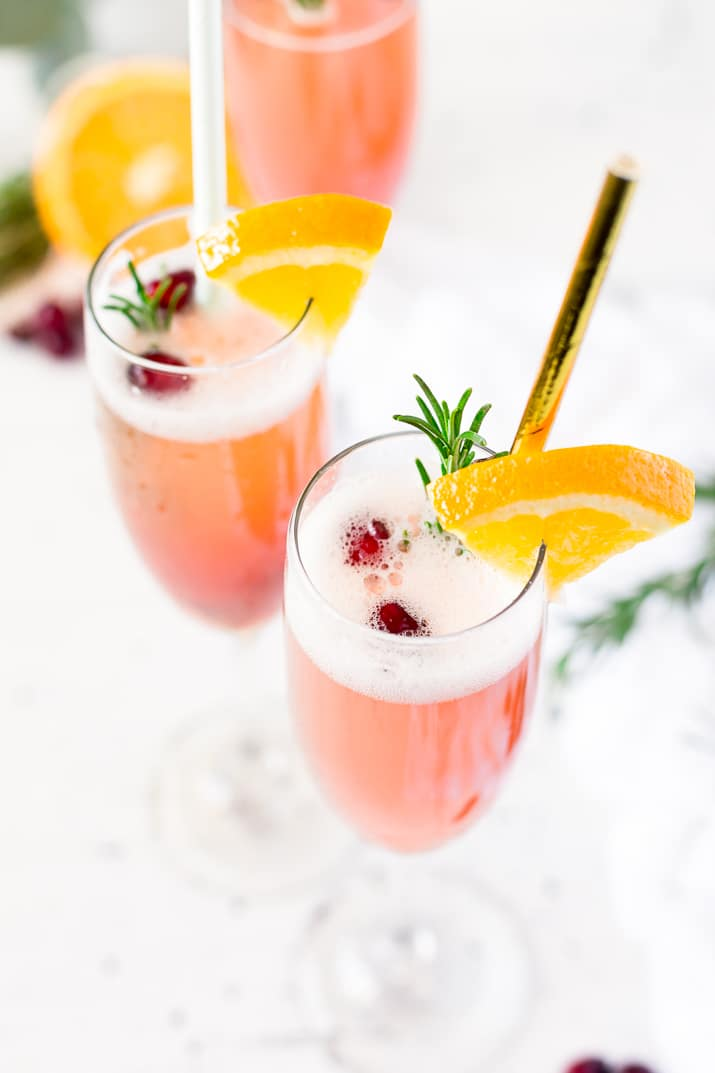 Cranberry Orange Mimosa Recipe
