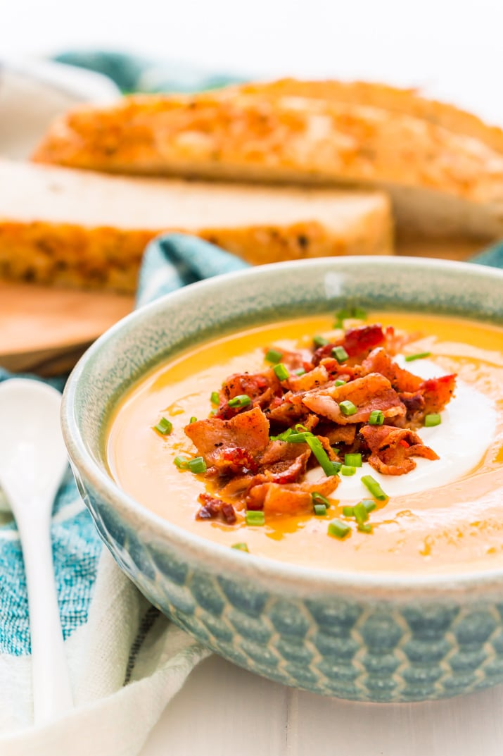How to Make Sweet Potato Soup