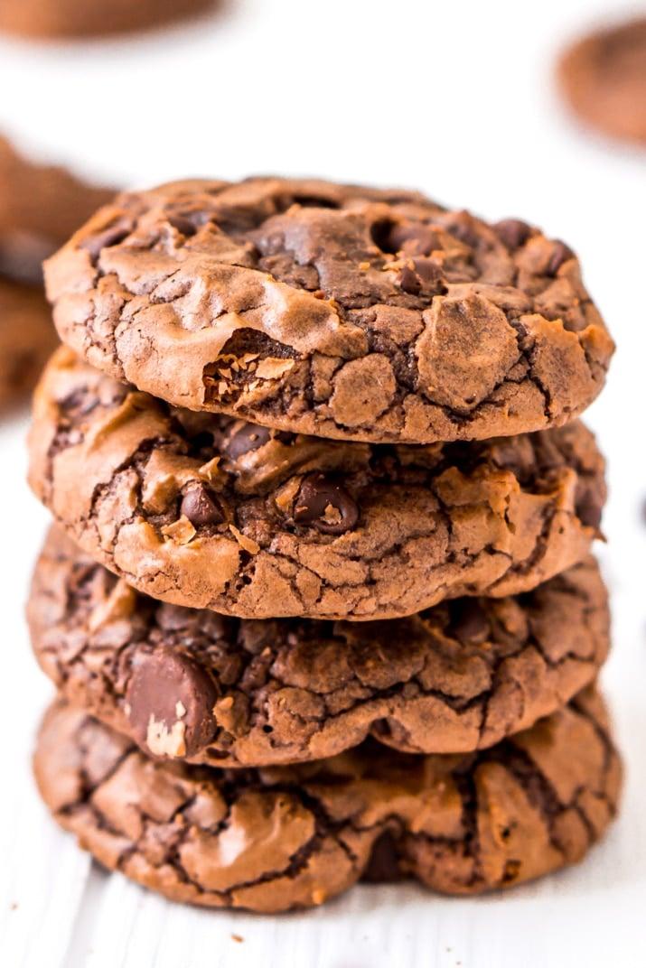 Easy Box Mix Brownie Cookies Recipe | Sugar & Soul