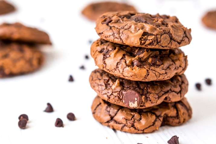 Easy Brownie Cookies Dessert Recipe