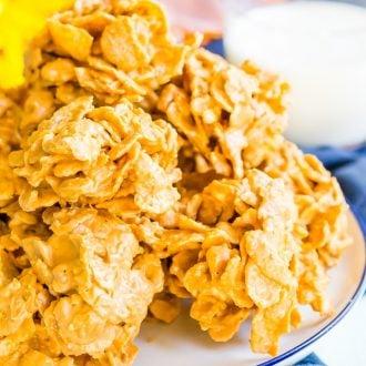 Butterscotch Cornflake Cookies Recipe | Sugar & Soul