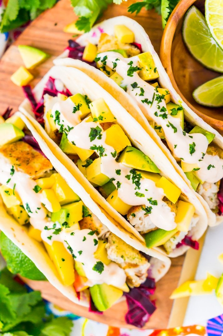 The best sauce for fish tacos!