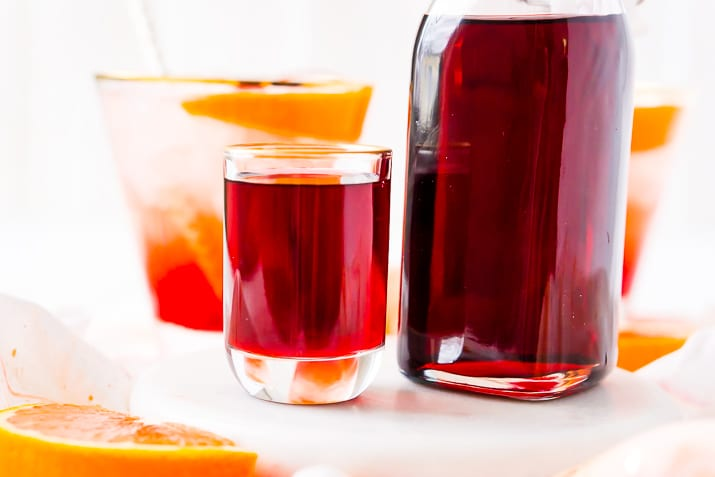 Recipe for Grenadine Syrup