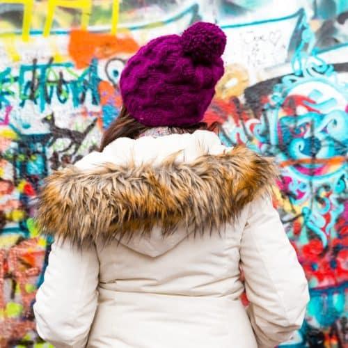 Visiting the Lennon Wall Prague, Czechia