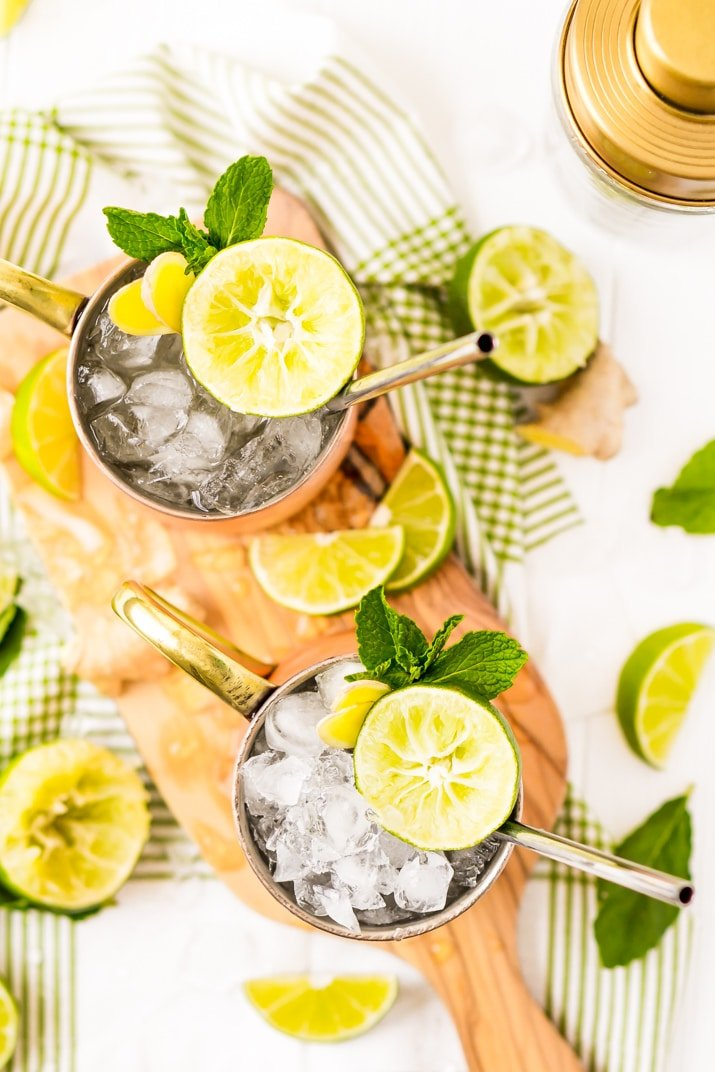 Classic Cocktail - This Moscow mule recipes is the best ever!