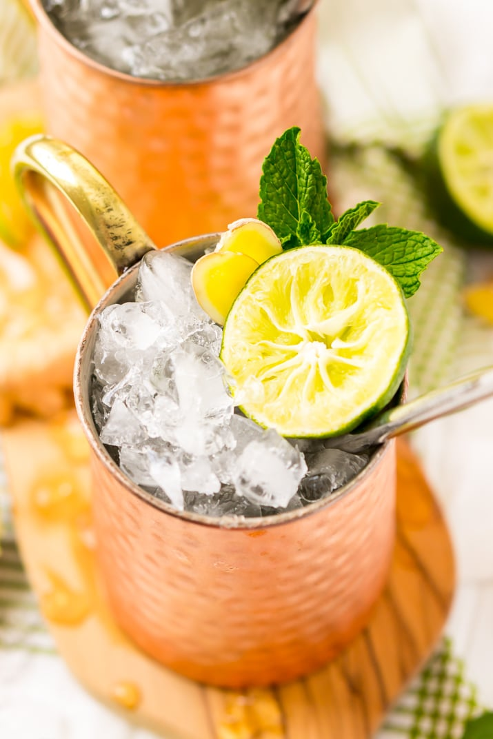The Best Ever Moscow Mule Recipe!