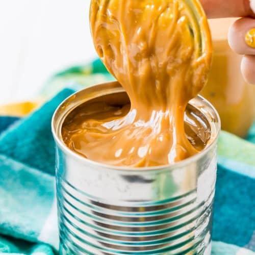 Slow Cooker Dulce de leche Caramel Sauce