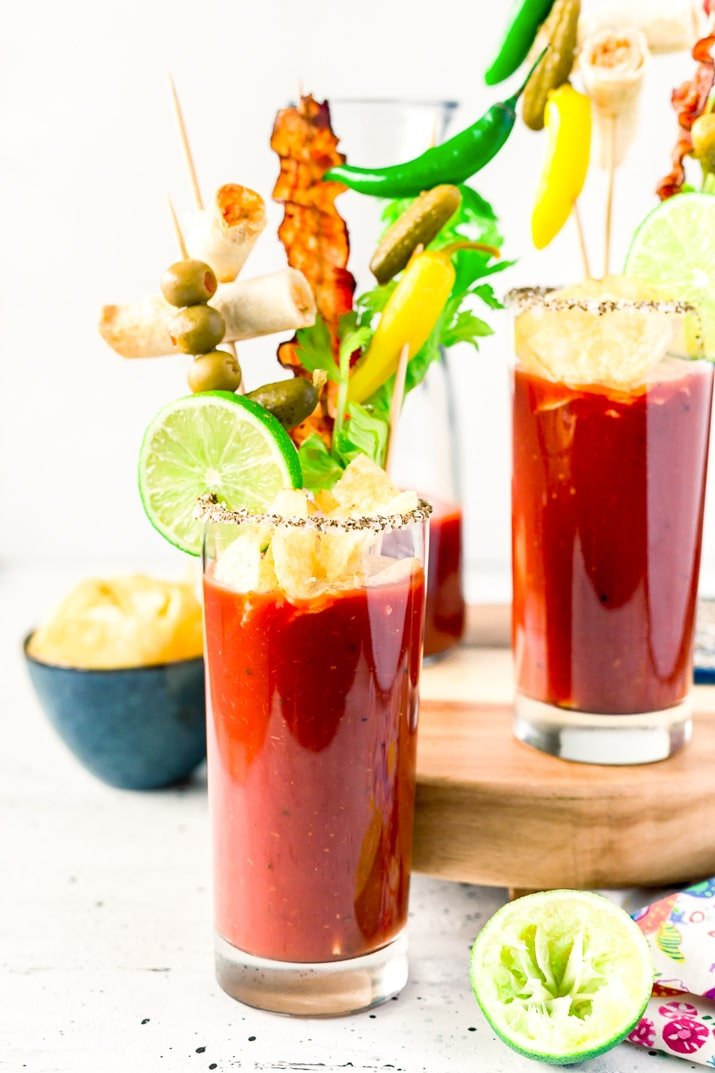 Best Ever Bloody Mary Cocktail Recipe Sugar Soul