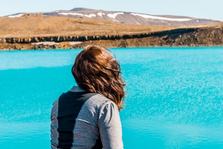 Green Lake in Iceland