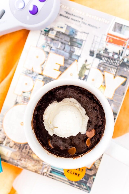 Microwave Brownie Mug Cake Recipe | Sugar & Soul