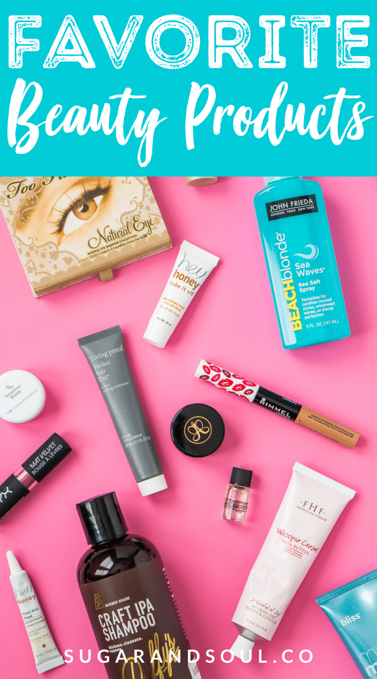 Looking for some great new beauty products to try, here are some of my favorites right now for makeup, skin care, hair, and more!