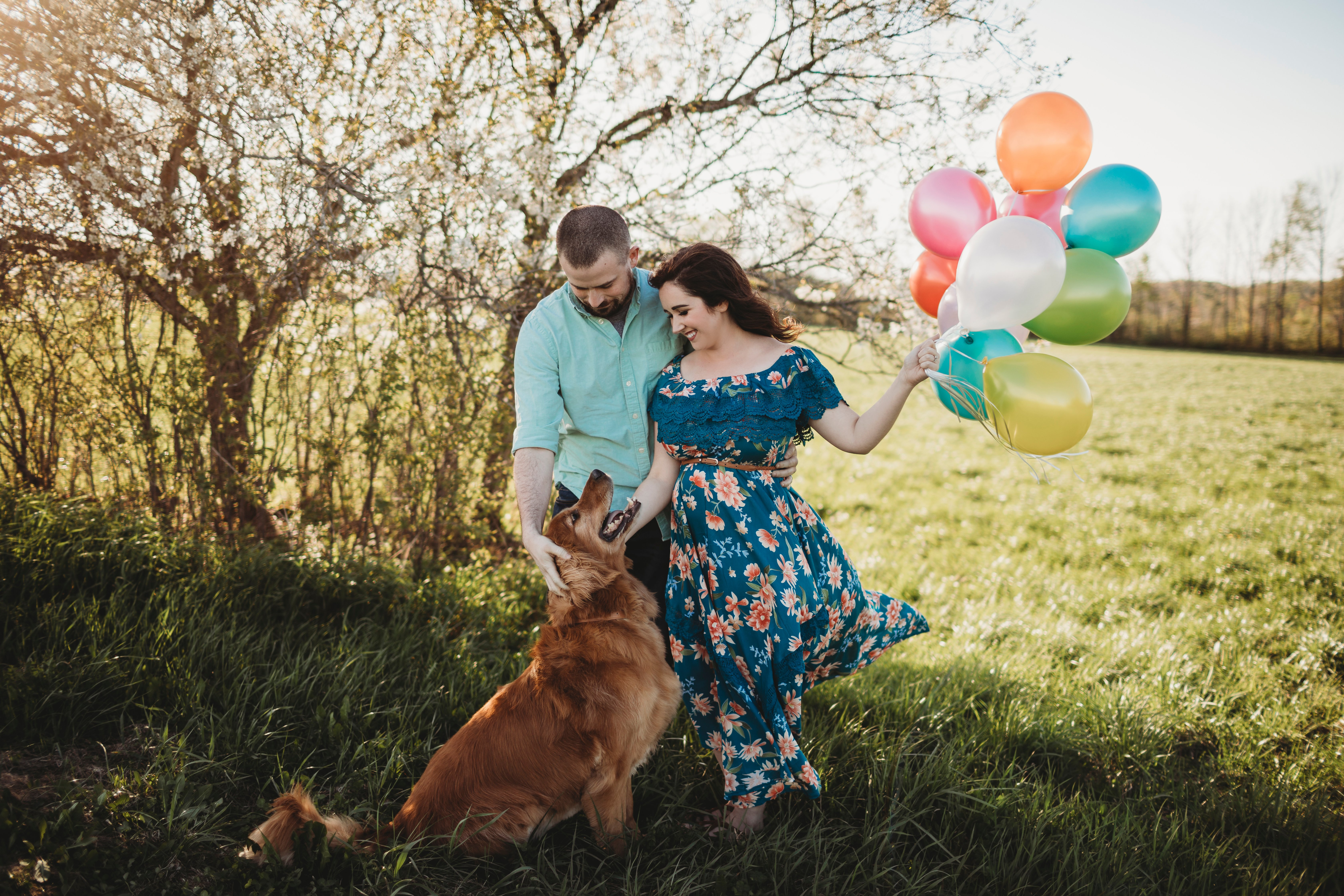 This Balloon Gender Reveal by Sugar & Soul is a unique alternative to balloon boxes and black balloon baby gender reveals. It's easy to throw together too!
