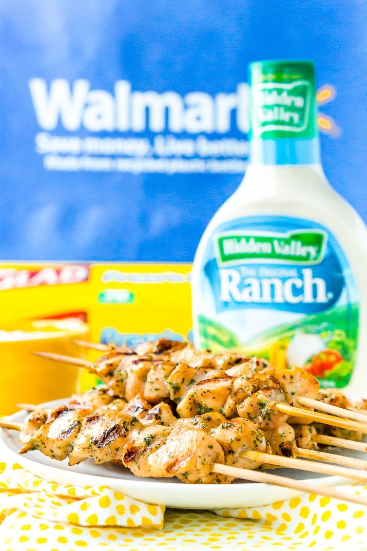 This Ranch Chicken is so easy to make with just two ingredients that pack tons of flavor! Bake it in the oven or cook it on the grill!