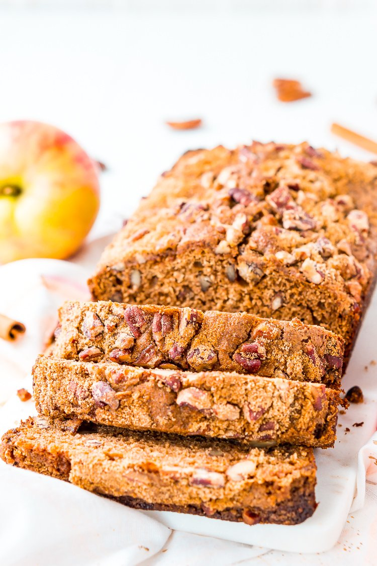 Applesauce Bread - Easy and Delicious | Sugar & Soul
