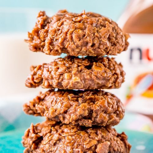 Nutella No Bake Cookies