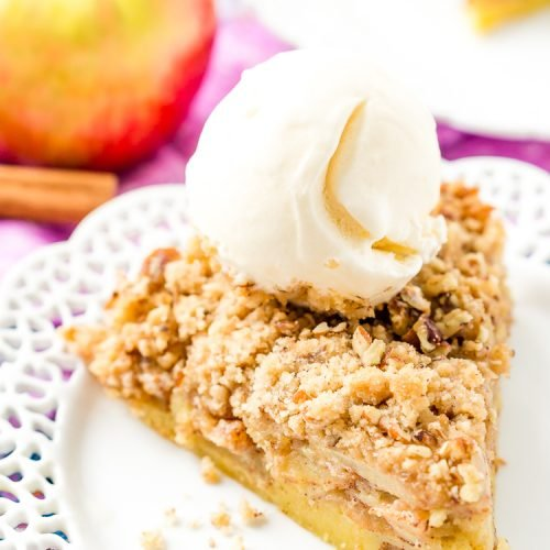 Impossible French Apple Pie