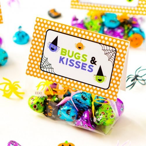 Bugs & Kisses Halloween Printable