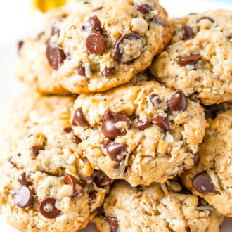 Lactation Cookies are an easy dessert recipe that helps increase milk production with added ingredients like coconut milk, Brewer's yeast, and oatmeal!