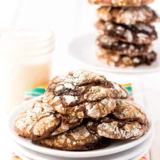 These Chocolate Cool Whip Cookies are a fun, easy, and quick dessert recipe made with just 4-ingredients!