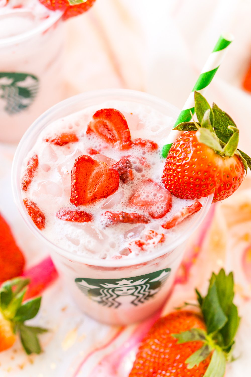 How To make Starbucks Pink Drink at home
