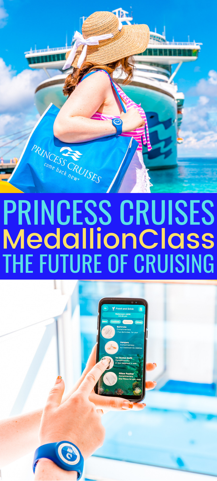 Princess Cruises has launched The MedallionClass™ Experience and the OceanMedallion™ provides cruisers with everything they need for an exceptional vacation! Cruising is now better and easier than ever! #ComeBackNew #OceanMedallion via @sugarandsoulco
