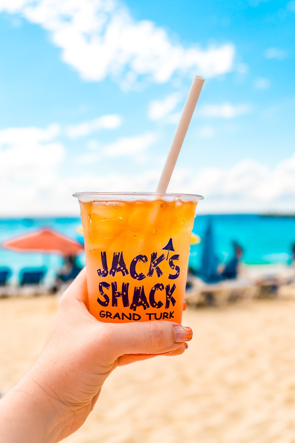 Jack's Shack Rum Punch on Grand Turk