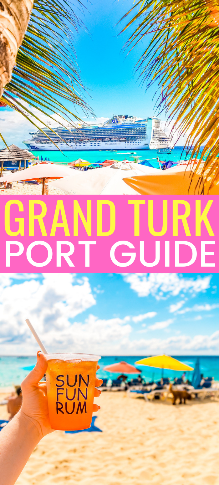 If you're planning a cruise with a port day in Grand Turk, here's the ultimate guide for what to do with your day in port in Turks and Caicos! via @sugarandsoulco