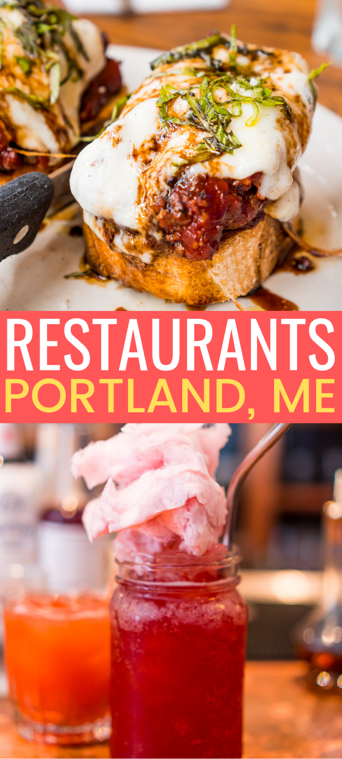 Whether you're planning a trip or you're a local, here are some of the Best Restaurants in Portland, Maine! From bakeries to speakeasies, this charming coastal city in New England has it all! via @sugarandsoulco