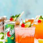 This 4-Ingredient Mocktail recipe can be made three different ways by using your favorite sodas for a bubbly and fun drink for summer entertaining.