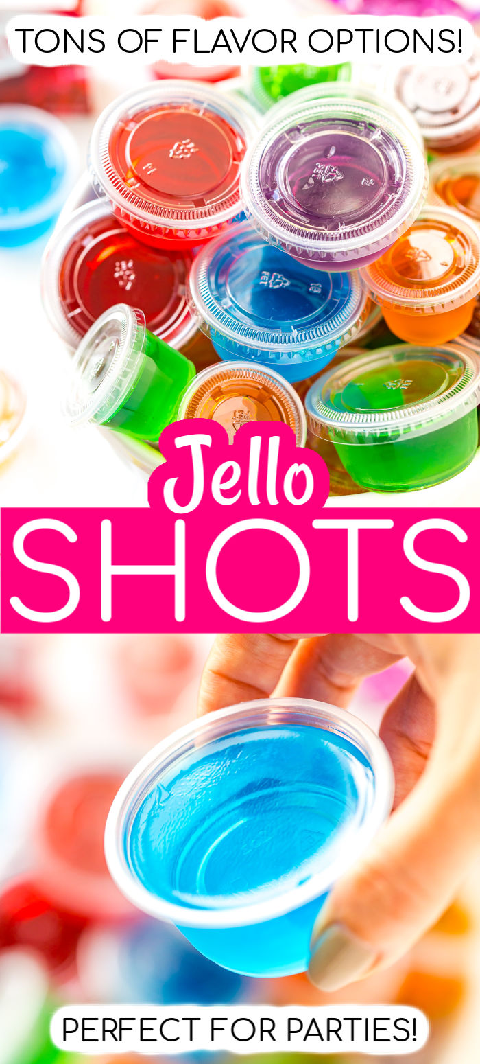 Looking for a fun, easy, and fruity cocktail for parties? These shots are made with Jell-O or gelatin and alcohol! This is the Ultimate Guide for How To Make Jello Shots where I'll share tips, ideas, and some of my favorite recipes for your next party! via @sugarandsoulco