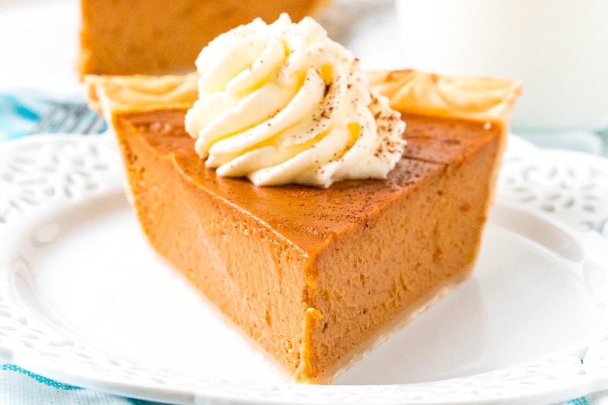 Pumpkin Pie Recipe | Sugar and Soul