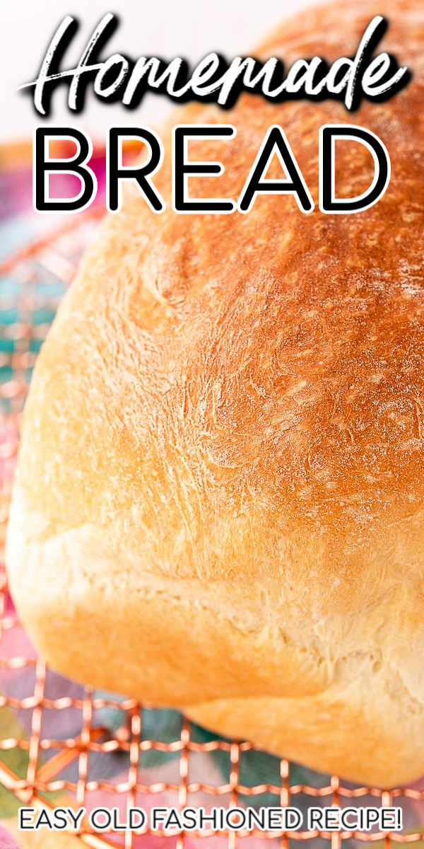 If you're looking for an easy Homemade Bread Recipe with step-by-step instructions, photos, and tips, this is it! The result is fluffy, tender, and delicious white bread that can be used for sandwiches, French toast, and more! via @sugarandsoulco