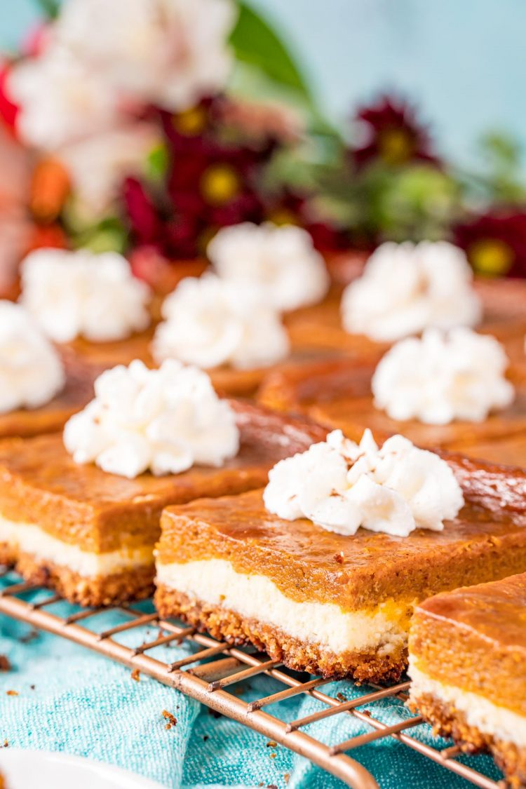 Best Pumpkin Cheesecake Bars Recipe Sugar And Soul